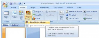 create slideshow using powerpoint 2007