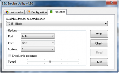 SSC Service Utility Version 4.30