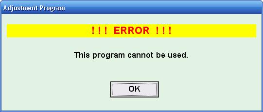 How to Run Adjustment Program for Epson Printers Whitout