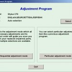 Download Adjustment or Software Resetter Epson C79