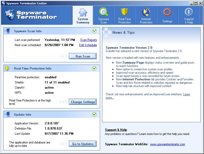 free anti spyware software: