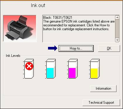 "To solve ""Ink out error"" problem for Epson Printer you can use one"