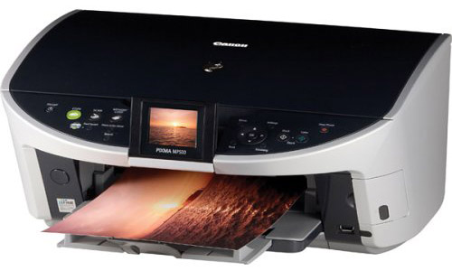 The reset method for Canon Pixma MP500 All-In-One Photo Printer