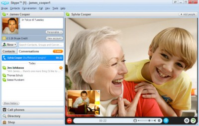 Skype Screenshot