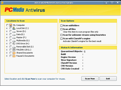 PC Media Antivirus PCMAV