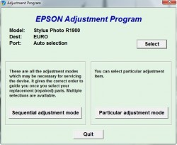 Adjustment Program Epson R1900