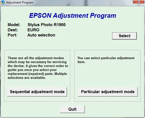 descargar adjustment program epson reset
