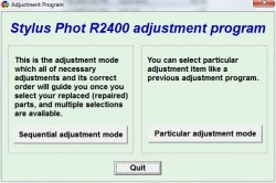 Adjustment Program Epson R2400