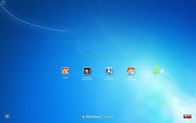 Windows 7 Default LoginScreen