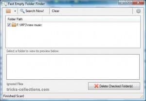fast-empty-folder