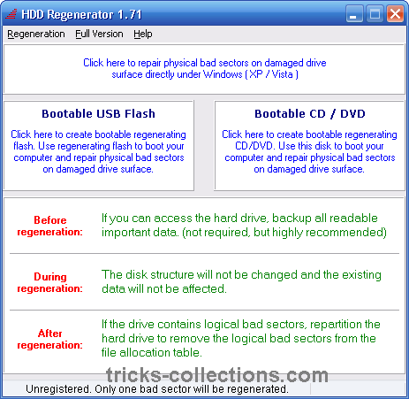 download hdd regenerator full version with key 2015