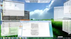 T3Desk - 3D windows desktop