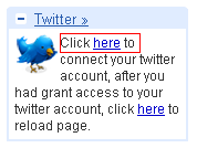activate twitter on gmail