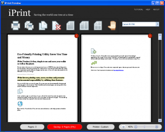 iPrint printer utility