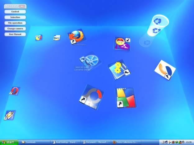 real desktop 156 � make your windows desktop 3d tricks