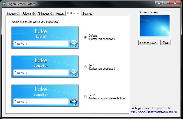 Logon Screen Rotator 4.4 full