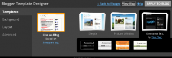 Blogger template designer -templates