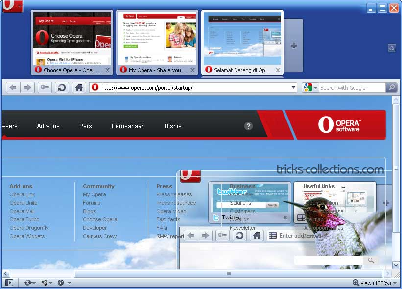 Opera windows 95 - 83fde