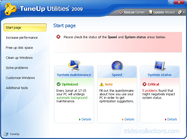 tuneup utilities 2009 vollversion