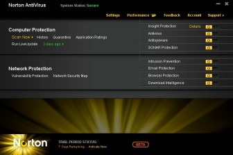 Norton Anti Virus 2011 beta