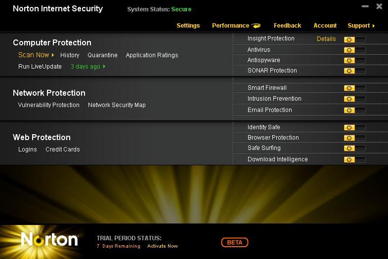 Norton Internet Security 2011 Активатор