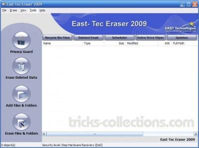 East-Tec Eraser 2009