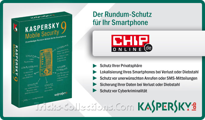 Free Kaspersky Mobile Security 9 Activation Code – Active for 6
