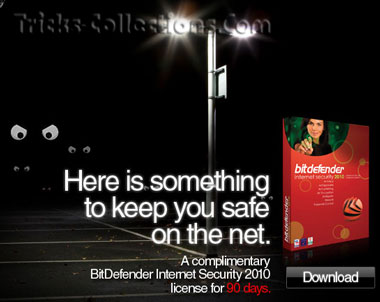 BitDefender Internet Security 2010 promo