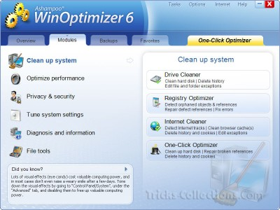 WinOptimizer 6 full version