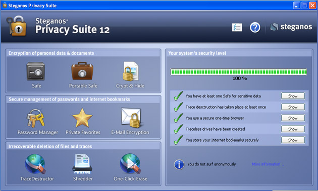 steganos privacy suite 12