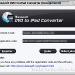 Daniusoft DVD to iPad Converter License Key for Windows & Mac Free