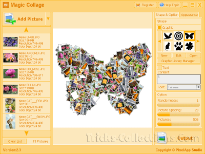 Magic Collage Software