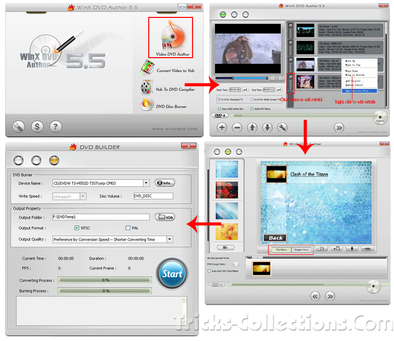 How to Convert Your Video to DVD [Tutorial]   Tricks-Collections Com