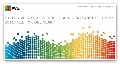 AVG Inernet Security 2011 Promo License Key