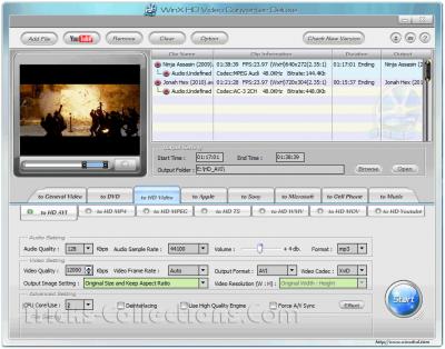WinX HD Video Converter Deluxe 3.10.2