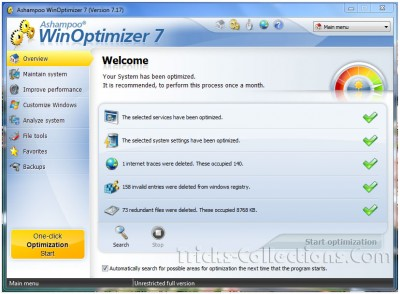 Ashampoo WinOptimizer 7 Full Version