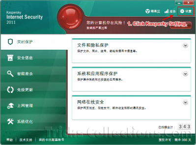 Kaspersky Internet Security 2011 Chinese version