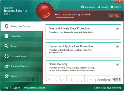 Kaspersky Internet Security 2011 English interface