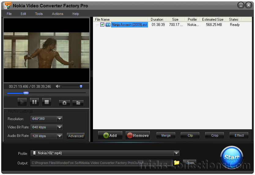 Nokia Video Converter Factory Pro v4.7 Full