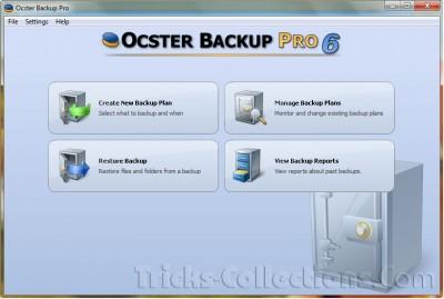 Ocster Backup Pro 6