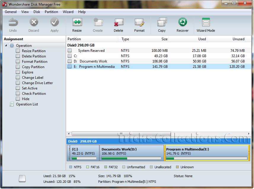 скачать ключ для wondershare disk manager free