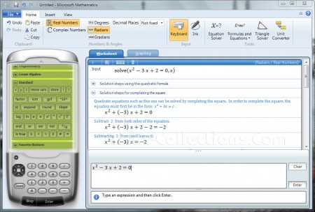 Microsoft-Mathematics