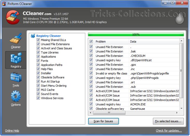 CCleaner. Outra opção interessante é o desinstalador de programas, que, de  maneira semelhante ao do Windows, funciona desinstalando de vez programas e  seus ...