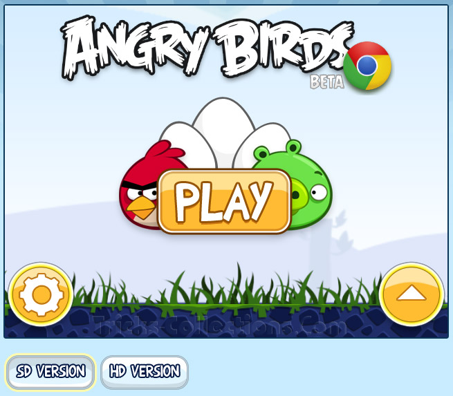 Play Angry Birds without Download this Game into Your PC