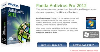 Panda Antivirus Pro 2012 Promo
