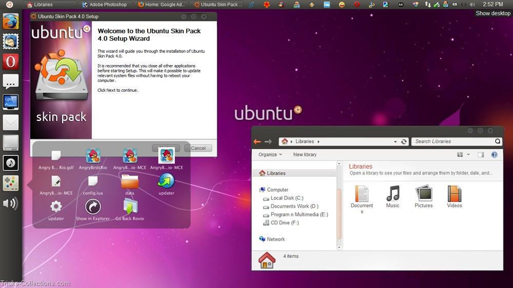 how to download my website from ubuntu