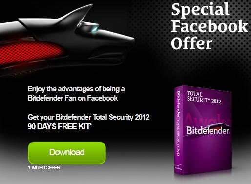 Bitdefender Total Security For Free To Obtain Bitdefender Total