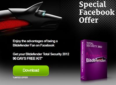 BitDefender Total Security 2012 Full Version 90 Days