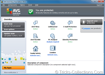 AVG Anti Virus 2012 Free Edition