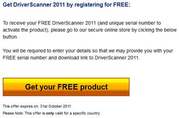 Uniblue Driver Scanner  2011 Registration